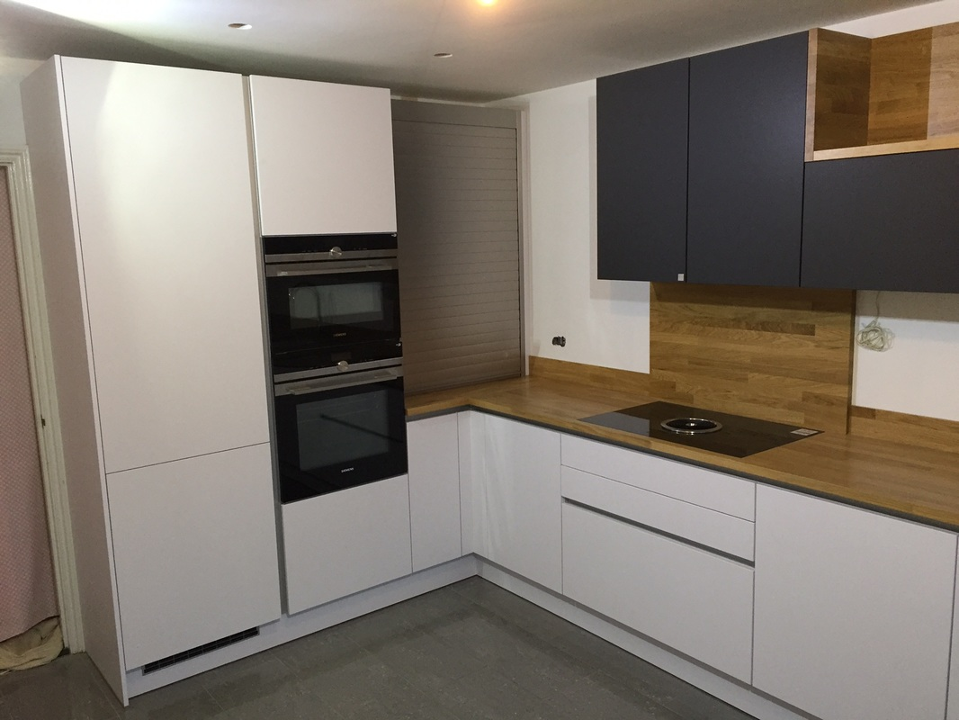 We Have Just Finished This Superb German Leicht Kitchen In